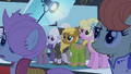 Ponies looking at Fluttershy S1E20.png