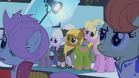 Ponies looking at Fluttershy S1E20