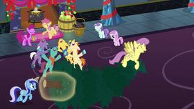 Ponies singing together S06E08