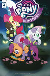 Ponyville Mysteries issue 4 cover RI