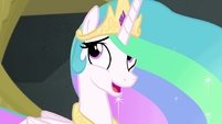 Princess Celestia -this is quite a contrast- EGFF