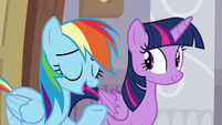 "Rainbow ""wanted to give you the chance"" S8E16"