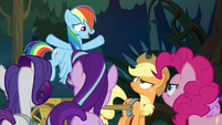 "Rainbow Dash ""we're all friends here!"" S8E13"