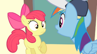 Rainbow Dash 'And then you tried to stop her...' S4E05