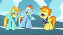 Rainbow Dash beaming grin S3E7