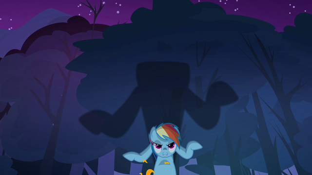 File:Rainbow forming the shadow of the Headless Horse S3E06.png