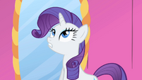 Rarity saying the headdress was too big S1E20