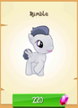 Rumble MLP Gameloft.png