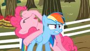 S02E15 Pinkie denerwuje Rainbow