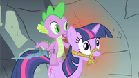 Spike & Twilight huh S1E19