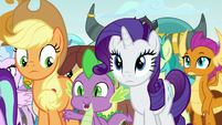Spike -without doing the eye thing- S8E2