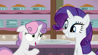 "Sweetie Belle ""that was, uh... one tasty bite"" S7E6"