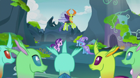 Thorax looking for changeling volunteers S7E17