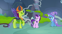 Thorax returns to Starlight and Trixie S7E17