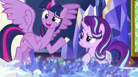 "Twilight ""we can forgive a little messiness"" S7E25"