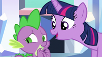 Twilight Sparkle --you're a celebrity here-- S6E16
