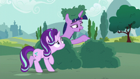 Twilight Sparkle --you can come out now-- S6E6