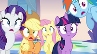 Twilight and friends shocked S03E12