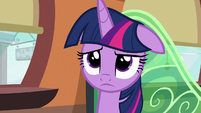 Twilight hears Spike S6E2