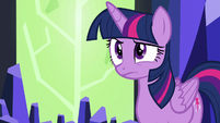 Twilight in mild disbelief S5E22
