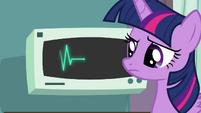 Twilight next to EKG S4E10