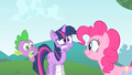 Twilight wincing and gritting her teeth S1E15.png