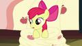 Apple Bloom sitting on her bedroom floor S5E4.png