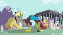 "Applejack to Discord ""Surely you saw this comin'"" S4E26"