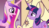 Cadance -That somepony is you, Twilight- S4E26