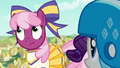 Cheerilee rolling her eyes at Rarity S6E14.png