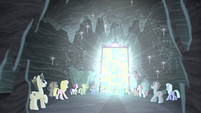 Cutie mark vault glass shatters S5E2