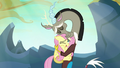 Discord tightly hugging Fluttershy S6E26.png