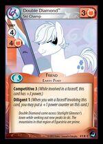 Double Diamond, Ski Champ card MLP CCG