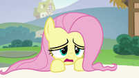 Fluttershy --up all night calming the animals down-- S6E21