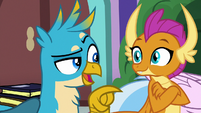 "Gallus ""if you want the real scoop"" S8E22"