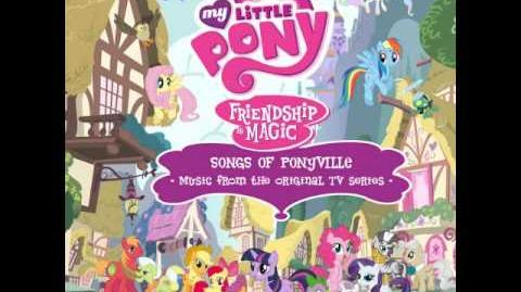 MLP FiM Songs of Ponyville Album (Hearts as Strong as Horses)