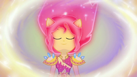 Memory of Sunset Shimmer in Legend of Everfree EGFF