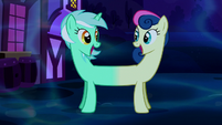 Merged Lyra and Sweetie Drops happy S5E13