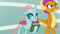 Ocellus holding rhyming dictionary S9E15