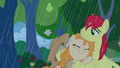 Pear Butter hugs Bright Mac in the rain S7E13.png