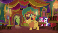"""Pinkie Pie """"why are you stacking chairs?"""" S6E12"""