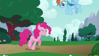 Pinkie Pie getting excited S6E15