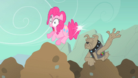 Pinkie Pie spot elastic tail snap S01E19
