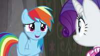 "Rainbow ""it's actually sorta neat"" S8E17"