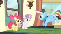 Rainbow Dash 'How's my favorite routine...' S4E05