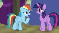 Rainbow Dash -did I miss something-- S8E7
