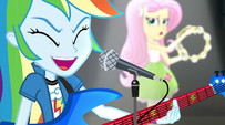 "Rainbow Dash and Fluttershy ""Hey! Hey!"" EG2"