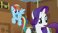 "Rarity ""how long will we be locked in here?"" S7E2"
