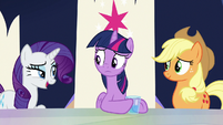 "Rarity ""once you make a plan?"" S9E1"