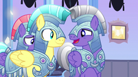Royal guard 2 --friends with a changeling--- S6E16